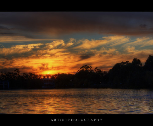The Moody Sunset - HDR + Orton | by :: Artie | Photography :: Travel ~ Oct