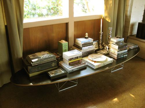 eames elliptical table arrangement next to the front door flickr. Black Bedroom Furniture Sets. Home Design Ideas