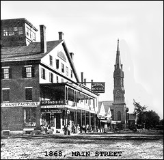 Cheshire House, Main Street, Keene NH in the 1860s | by Keene and Cheshire County (NH) Historical Photos