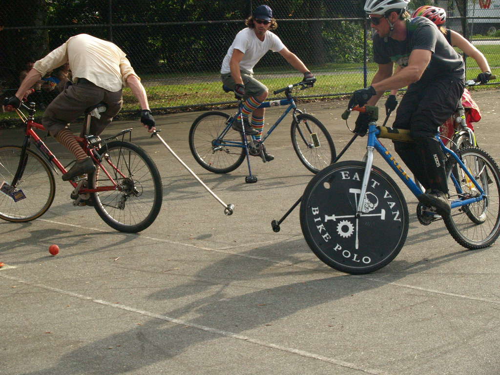 Image result for bike polo