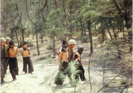 Enemy Captured In Vietnam 1967 B Company Unit B