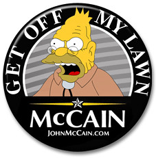 McCain Button - Get Off My Lawn | by WMxdesign