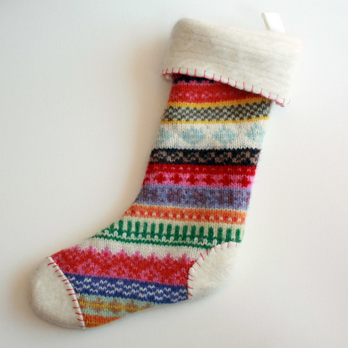 fair isle sweater stocking | by xoelle