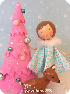 decorating the tree... | by be cheery (lollipop workshop)