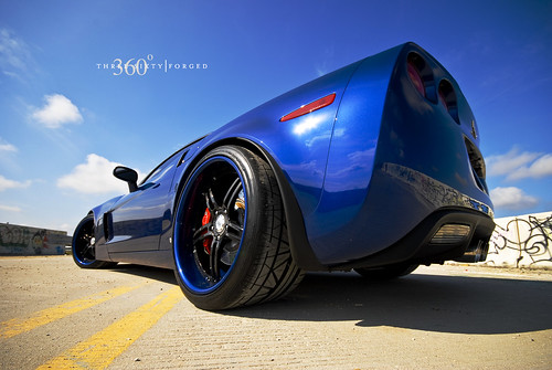Corvette Z06 on 360 Forged CF 5ive | by 360 Forged