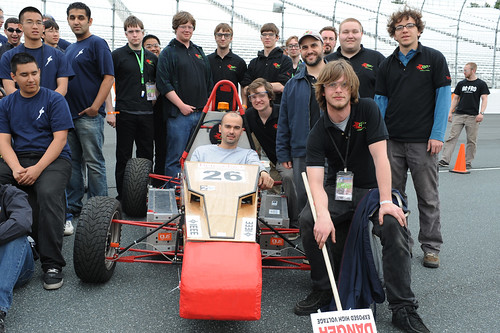 Formula Hybrid Competition 2011: Car Ramrod