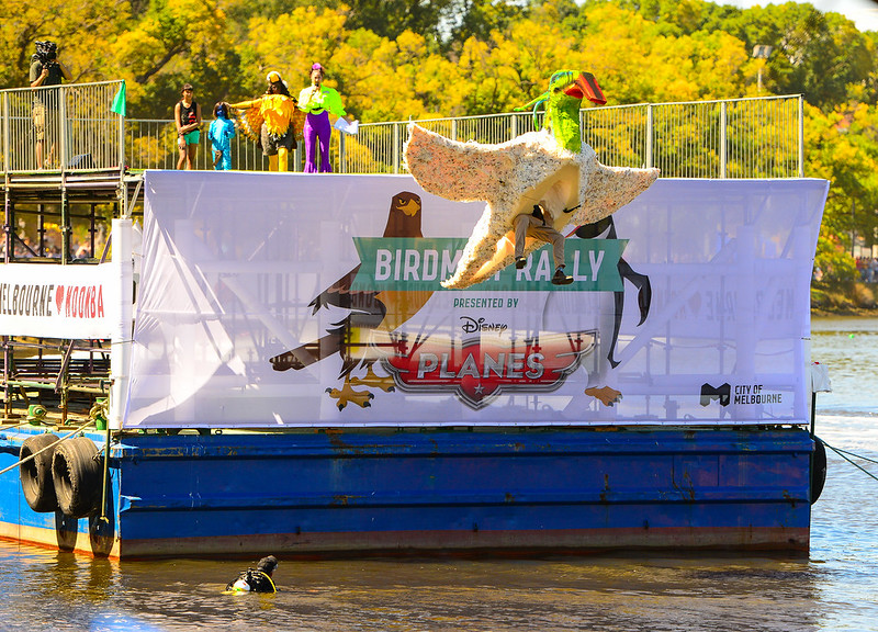 Moomba 2014 Bird Man Rally