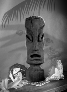 Hawaiian Eye Tiki Mug by Kevin Kidney | by Miehana