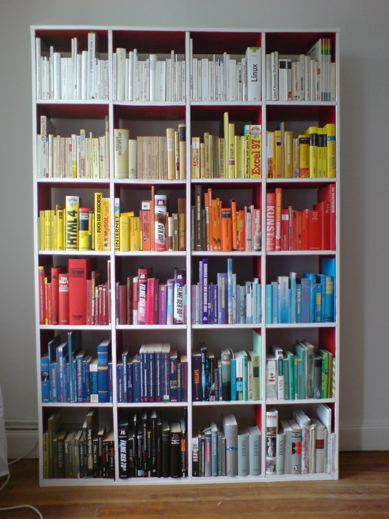 Books Sorted by Color   I sorted my books by color. It remai…   Flickr