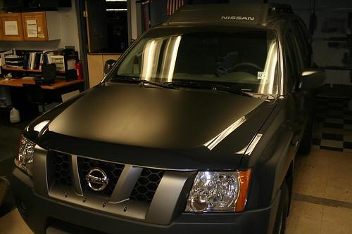 Nissan Xterra Blacked Out >> Nissan xterra hood blackout | Nissan xterra hood blackout Ni… | Flickr