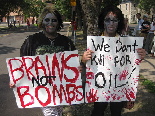 Zombie Protesters at the RNC | by matthewnstoller