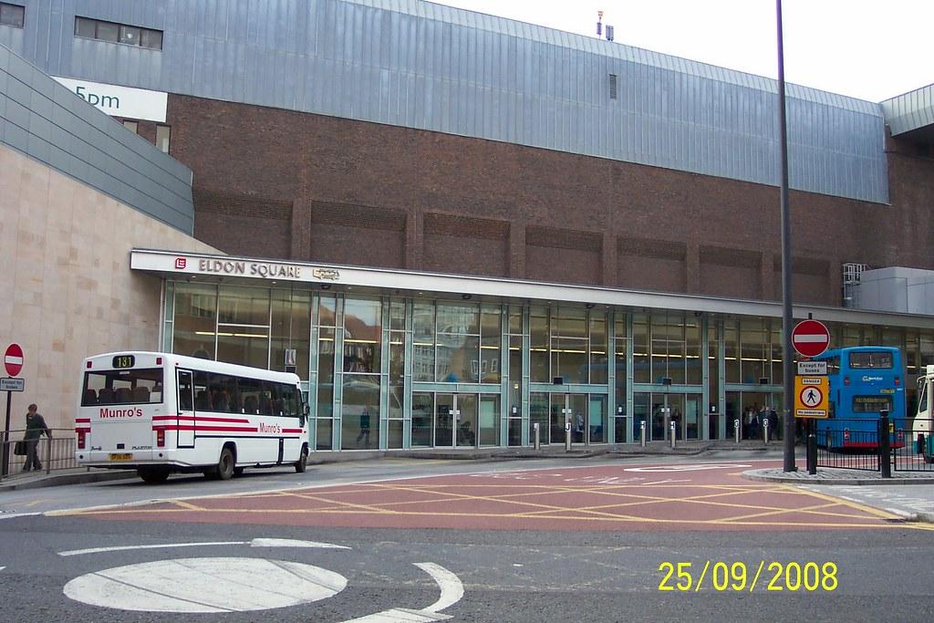 Summonedbyfells Eldon Square Bus Station By Summonedbyfells