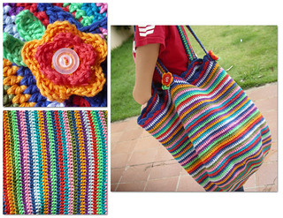 Crochet Bag - bolsa BBB da Gi | by gixlene