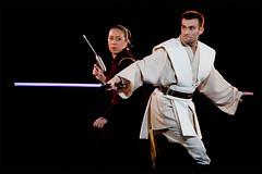 cosplay obi wan kenobi princesse amidala star wars by nicolas bonnewyn