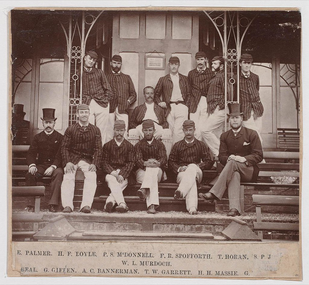 ... Australian Cricket Team, 1882 / by unknown photographer | by State  Library of New South