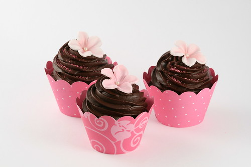 Cupcakes in wrapture | by cakejournal