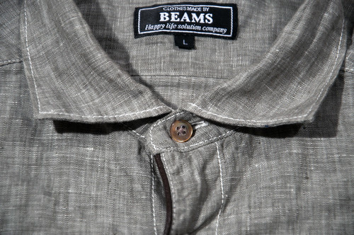 beams linen collar detail | by gettingbeatlikeyoustolesomething