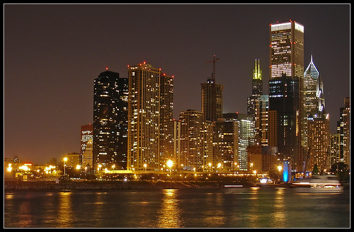Chicago by night | by Fabio Miola