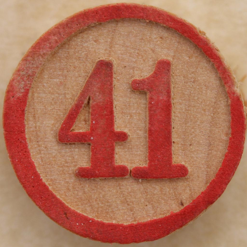 ... Bingo Number 41 | by Leo Reynolds
