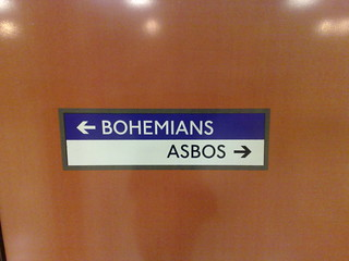 Bohemians this way, asbos that | by dannybirchall
