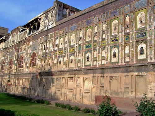 Outer Wall of Shahi Qila, Lahore, Pakistan - April 2008