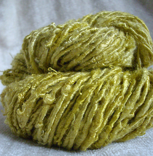 Golden Bananiere - Banana yarn | by TaraSwiger