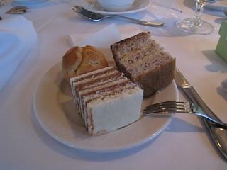 Hazelnut Cream Layer Cake