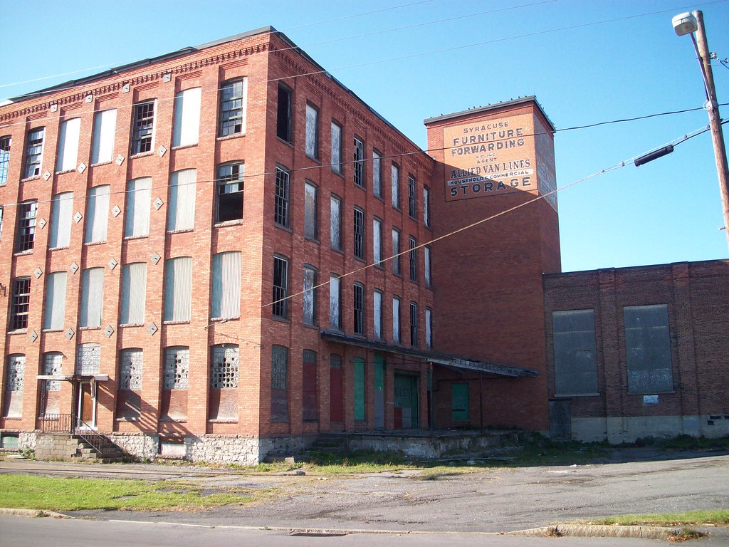... Syracuse Furniture Forwarding Warehouse, Outskirts Of Franklin Square,  Syracuse, NY | By Tuckerman13041