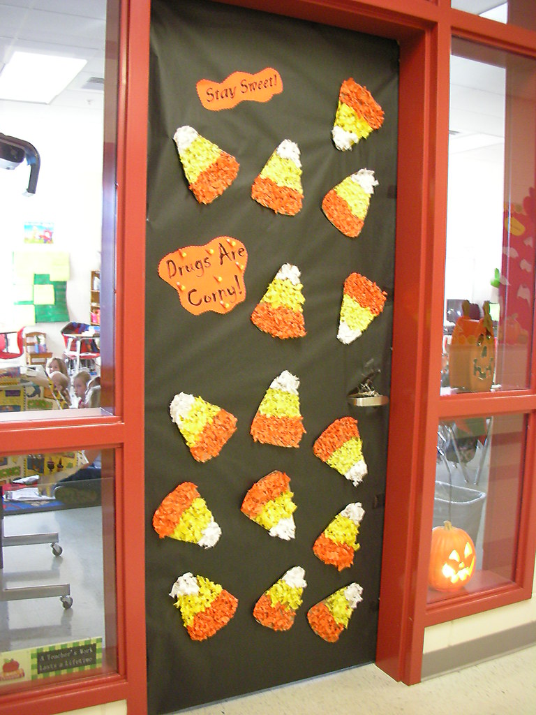 Door Decorations For Red Ribbon Week Stay Sweet Drugs Are Flickr