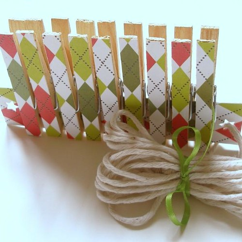 Christmas Card Clips | by Giggling Gnome