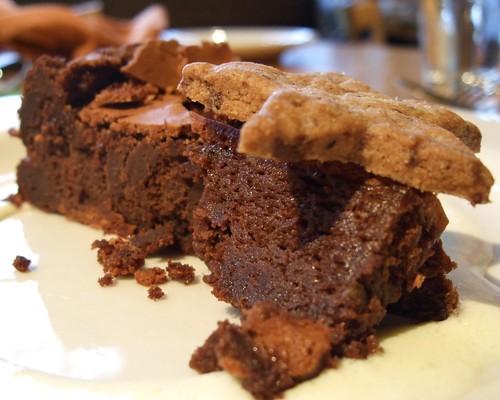 Chocolate Souffle Cake