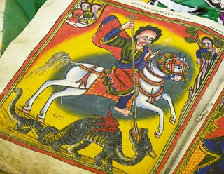 Ethiopian St. George And The Dragon - Detail | by A.Davey