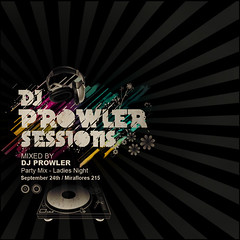 Flyer - Dj Prowler sessions | by Armando Rodríguez