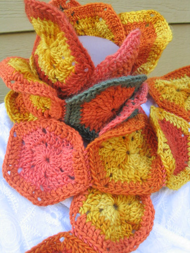 Autumn Medallion Scarf | by Mmm...Fiber!
