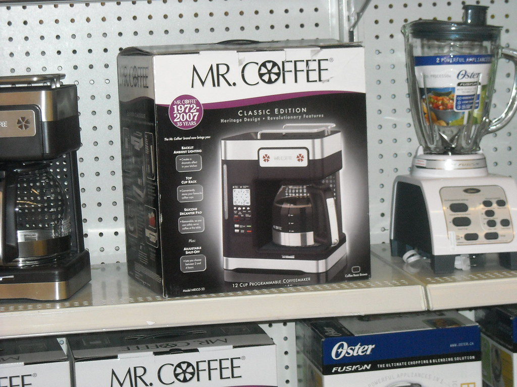 How to clean your mr. Coffee coffee maker.