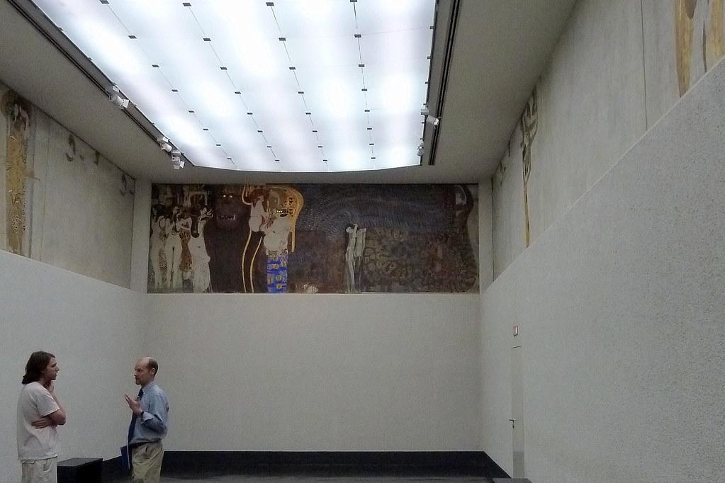 Klimt\'s Beethoven Frieze   While not being fans of Klimt we …   Flickr