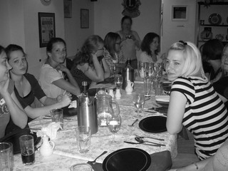 The gang at dinner in the pub | by ::Christine::