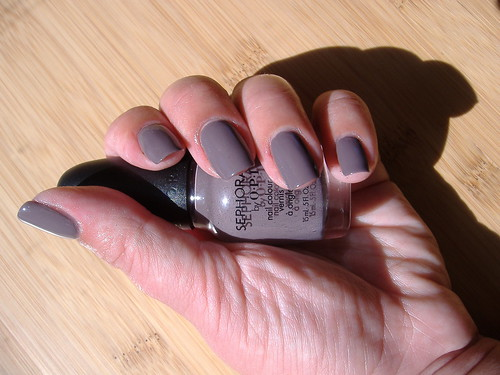 Sephora by OPI - Metro Chic - Swatch/Manicure | by mskatee22