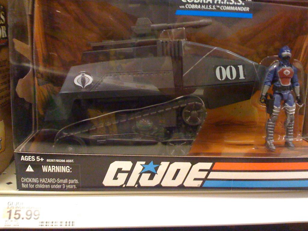 G.I. Joe toys at Target: H.I.S.S. tank   These toy sections …   Flickr