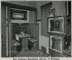 Breakfast Nook - Sears House - Kitchen | Sears kit home the … | Flickr