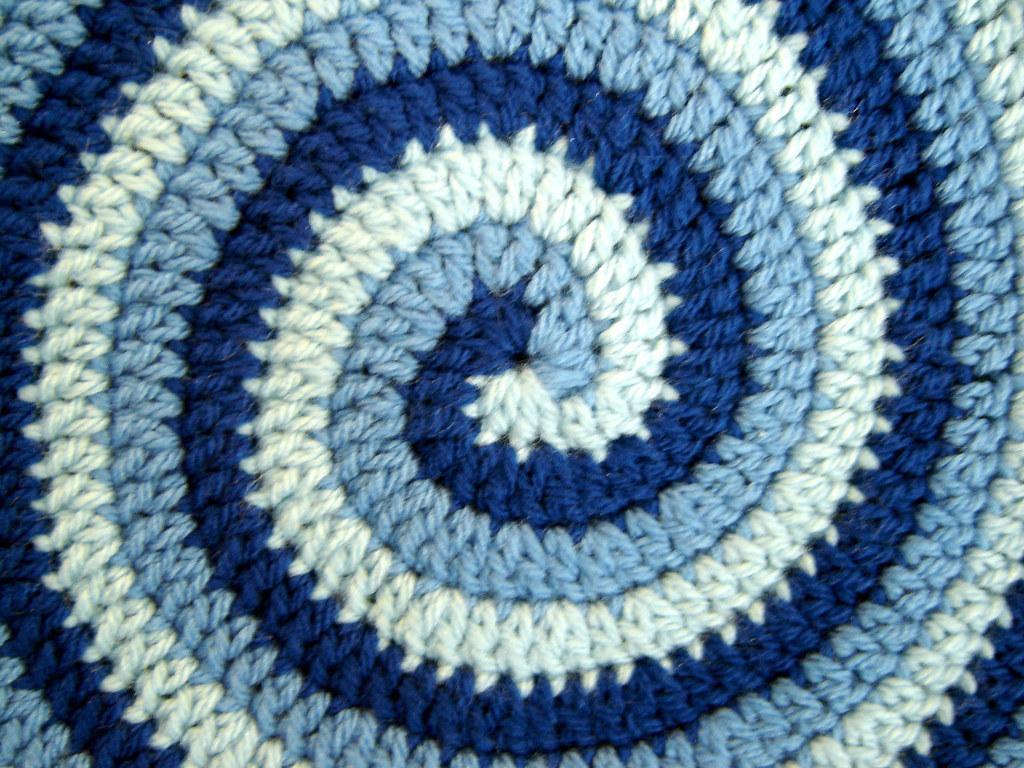 Crochet spiral 3 yarn blue detail i saw a crocheted sp flickr crochet spiral 3 yarn blue detail by quoin bankloansurffo Gallery