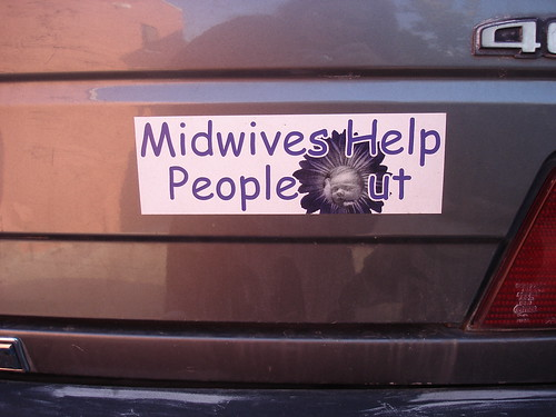 Midwifery bumper sticker | by RahelSharon