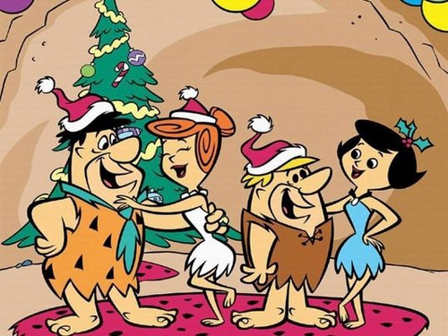 a flintstone christmas a very merry stone aged christmas t flickr