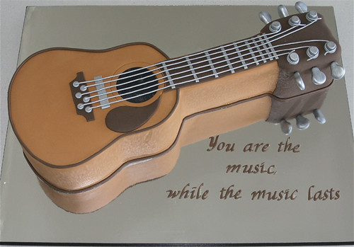 Acoustic Guitar Cake Divinecakes Flickr