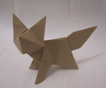 How To Origami A 3d Fox Wonderhowto Psychologyarticlesfo