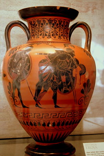 Mythos Troja... ancient greek Amphora | by oriana.italy