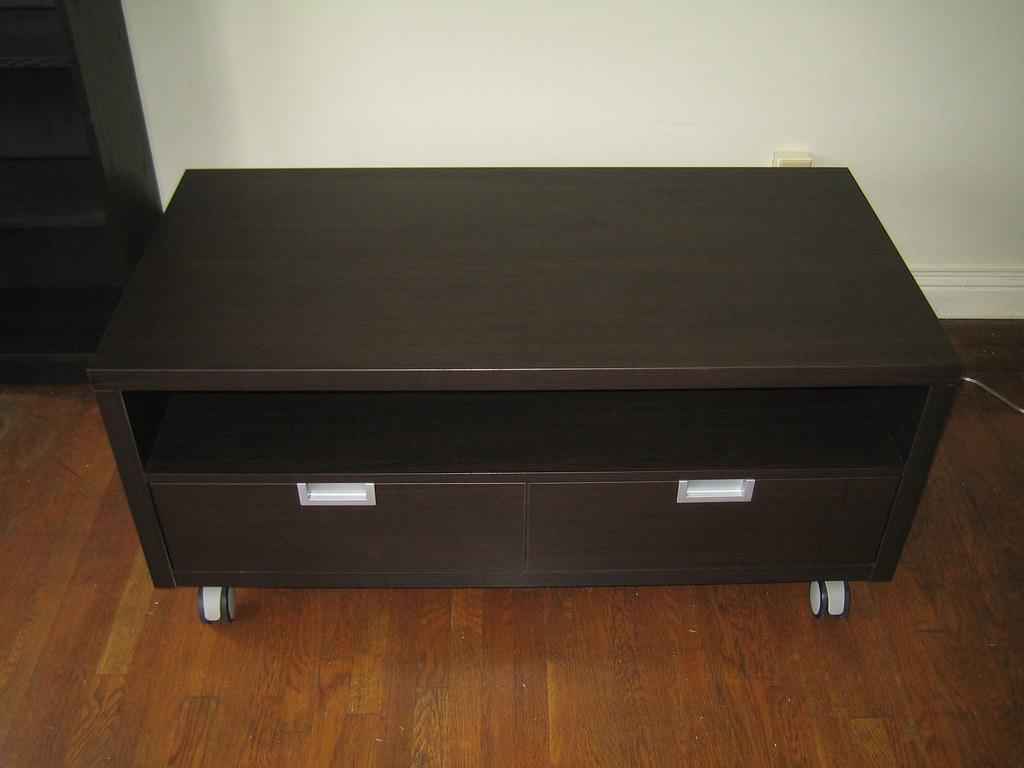 Ikea Besta Jagra Tv Stand Black Brown 47 1 4 Width X 23 5 Flickr