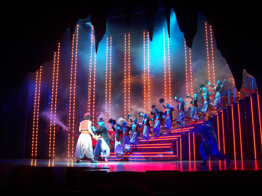 Friend Like Me Scene In Aladdin A Musical Spectacular