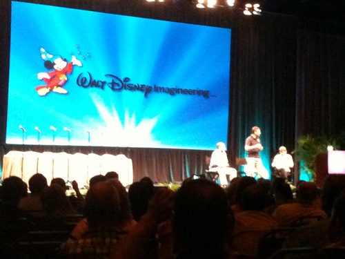 Imagineer panel ended. Now... Another! Kathy Rogers and two others. (Missed the names.) #fb | by insidethemagic