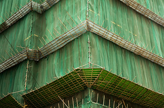 bamboo and old green lace | by threecee